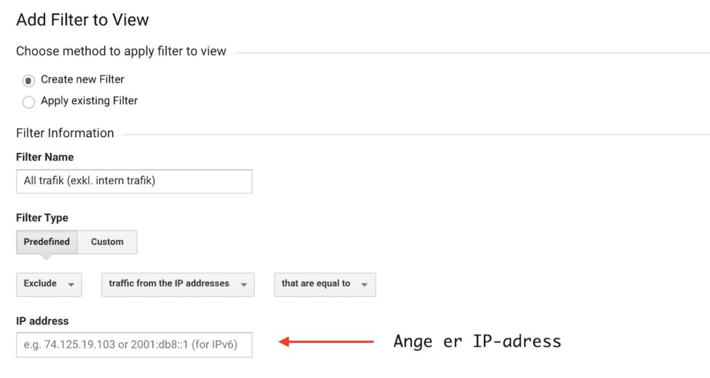 Ange er IP-adress