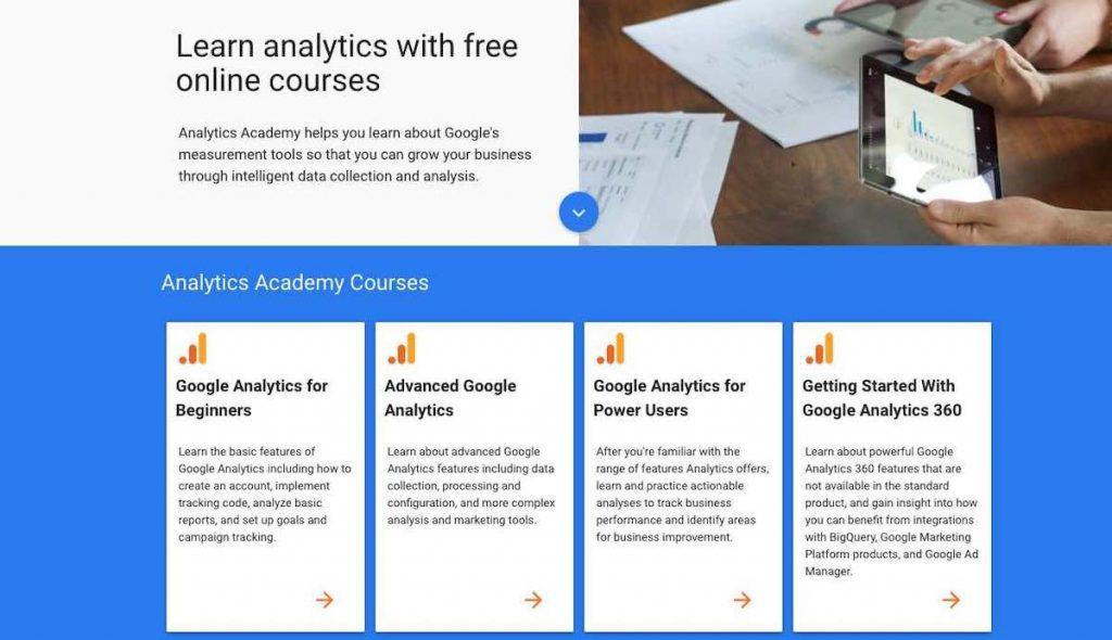 Google Academy Kurs